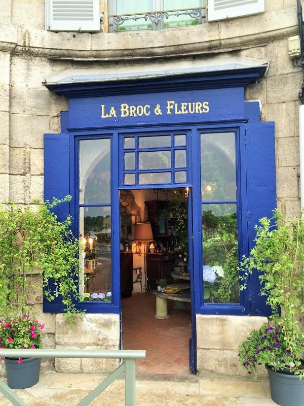 LaBroc&Fleurs entrée boutique