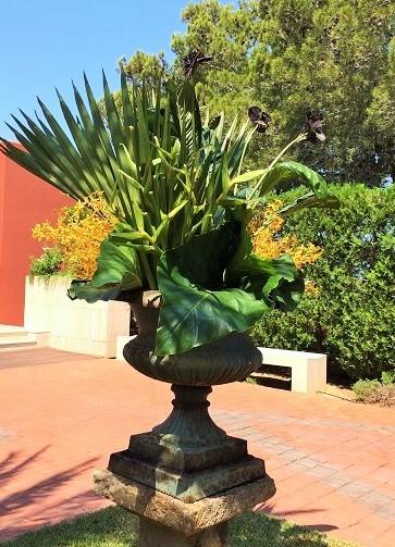 Composition vase